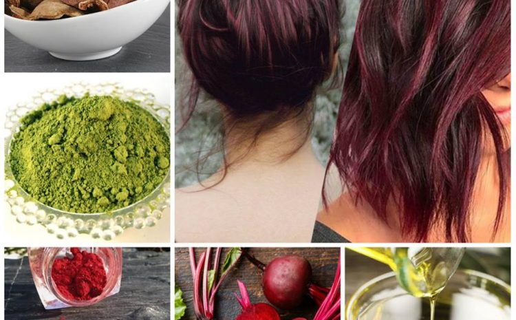 Colorer Les Cheveux en Rouge