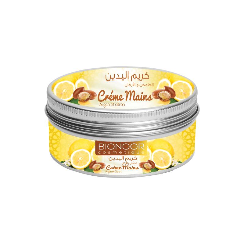 Crème Mains au Citron & Argan 100g