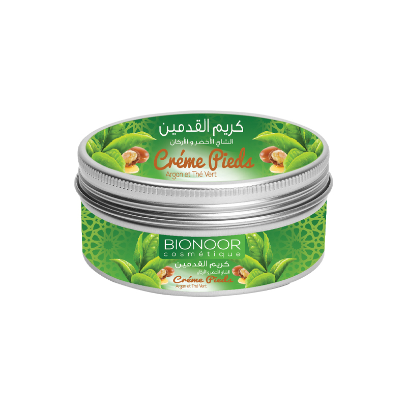 Crème Pieds ARGAN& Thé Vert 100g