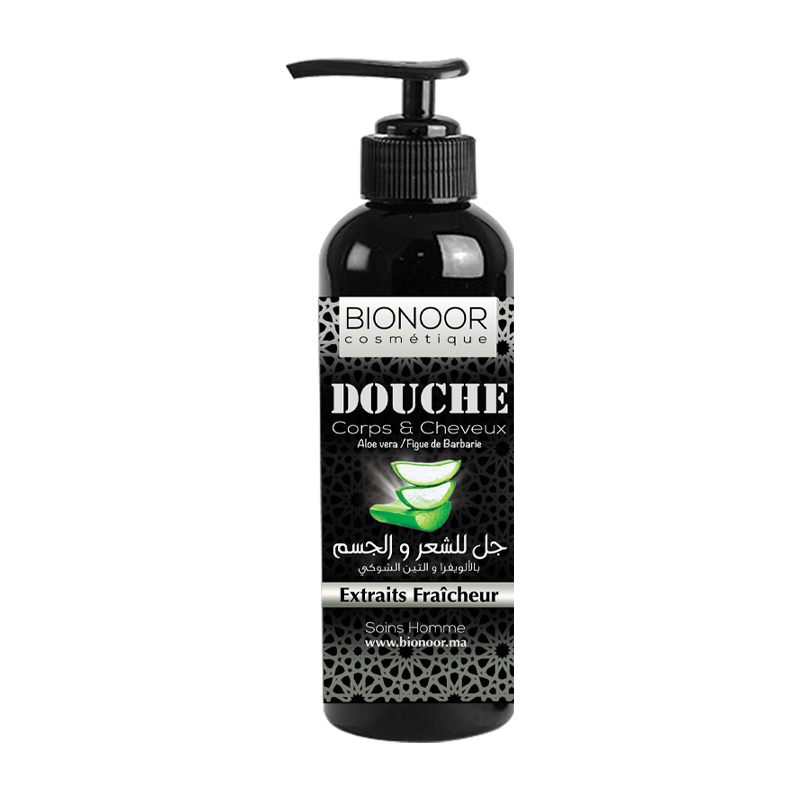 Shampoing Cheveux/Corps Aloe Vera
