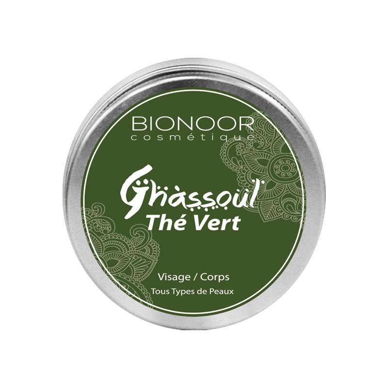 Ghassoul à la Thé Vert