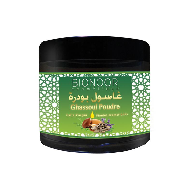 Masque Ghassoul Poudre Argan/Plantes Aroma