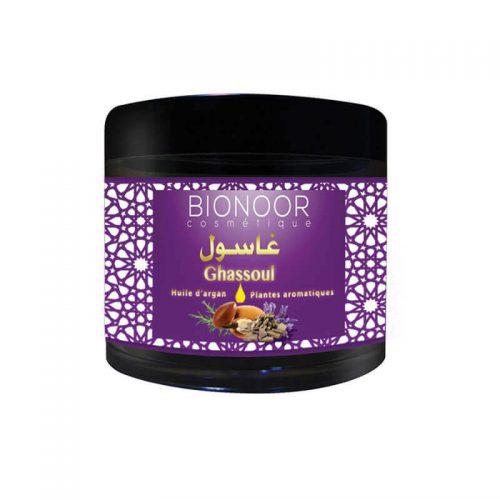 Masque Ghassoul Argan/Plantes Aromatiques 200G